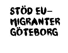 Stöd EU-migranter Göteborg transparet